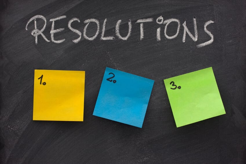 The 365 Freelance team's New Year's Resolutions