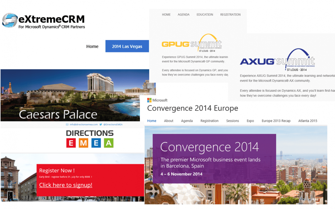 Key Microsoft Dynamics events to attend this autumn