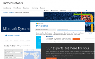 Top 10 Microsoft websites and portals for Dynamics Partners