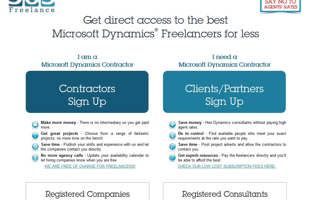 Access 500+ Dynamics consultants through a low cost membership service