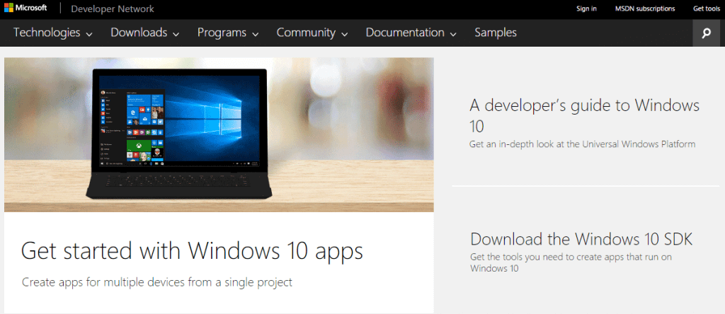 Microsoft Developer Network