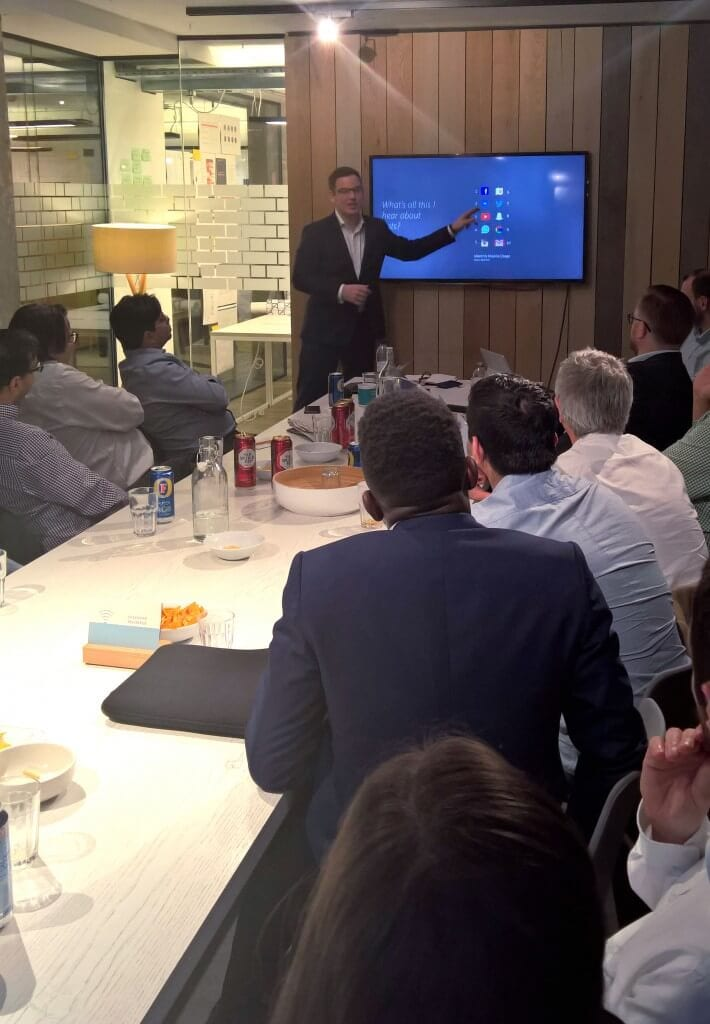 CRM 2016 event Kevin Hughes