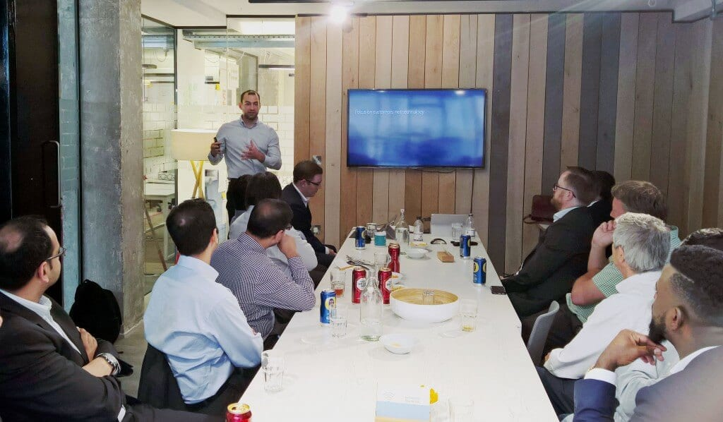 CRM 2016 update event Laurence Tinsley