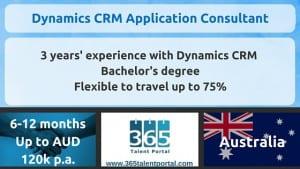 Dynamics CRM Consultant Australia
