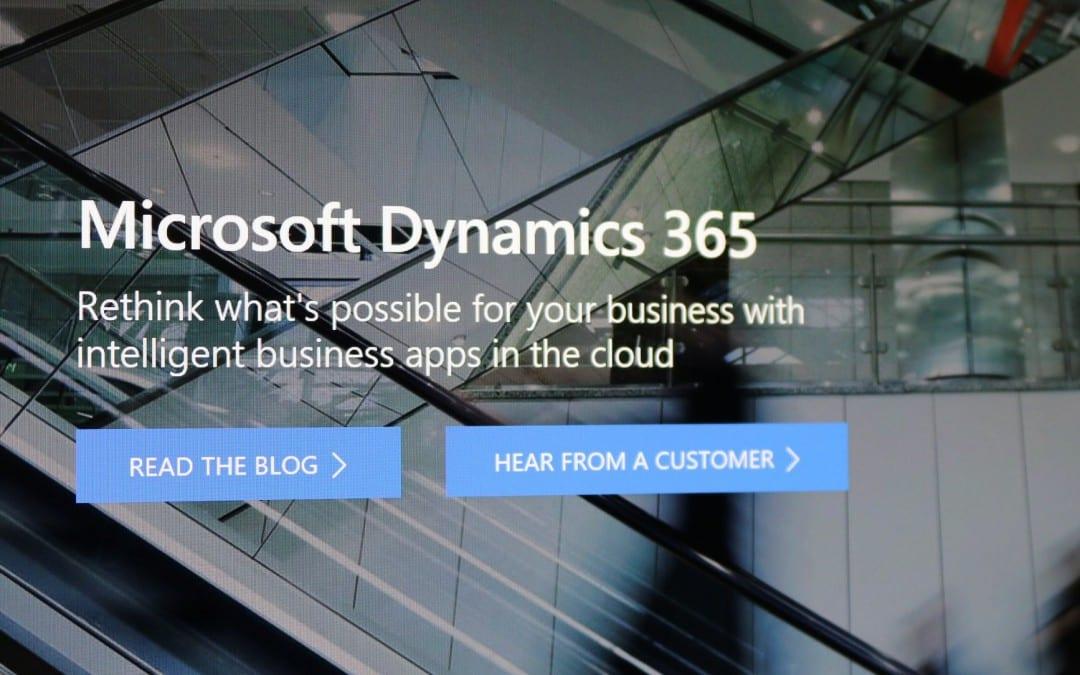 Dynamics 365 – first impressions