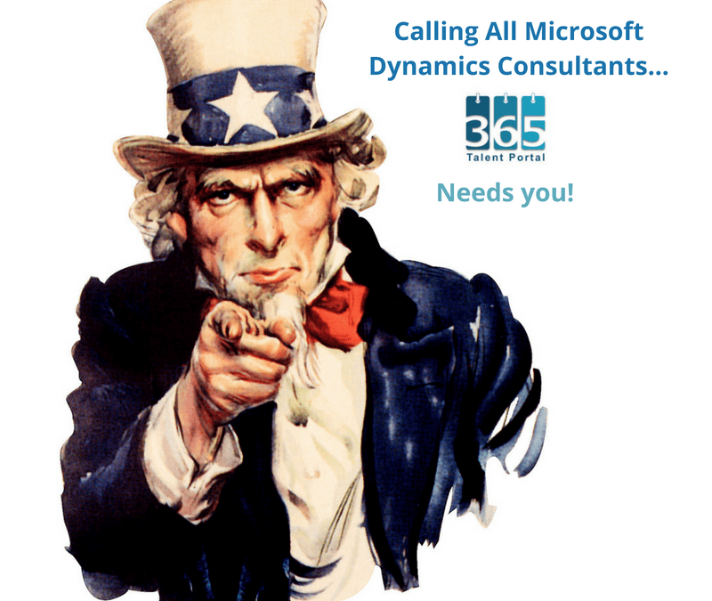 5 reasons Microsoft Dynamics Consultants should register with 365 Talent Portal…