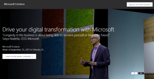 Microsoft events Envision 2017