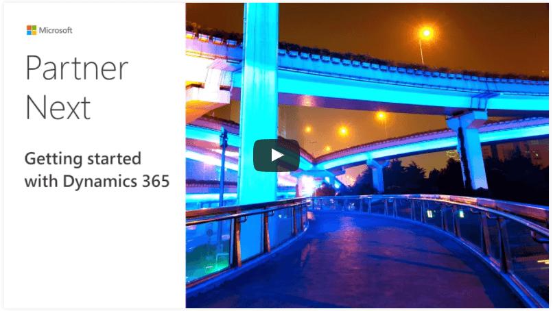 Dynamics 365 video modules on Partner Next