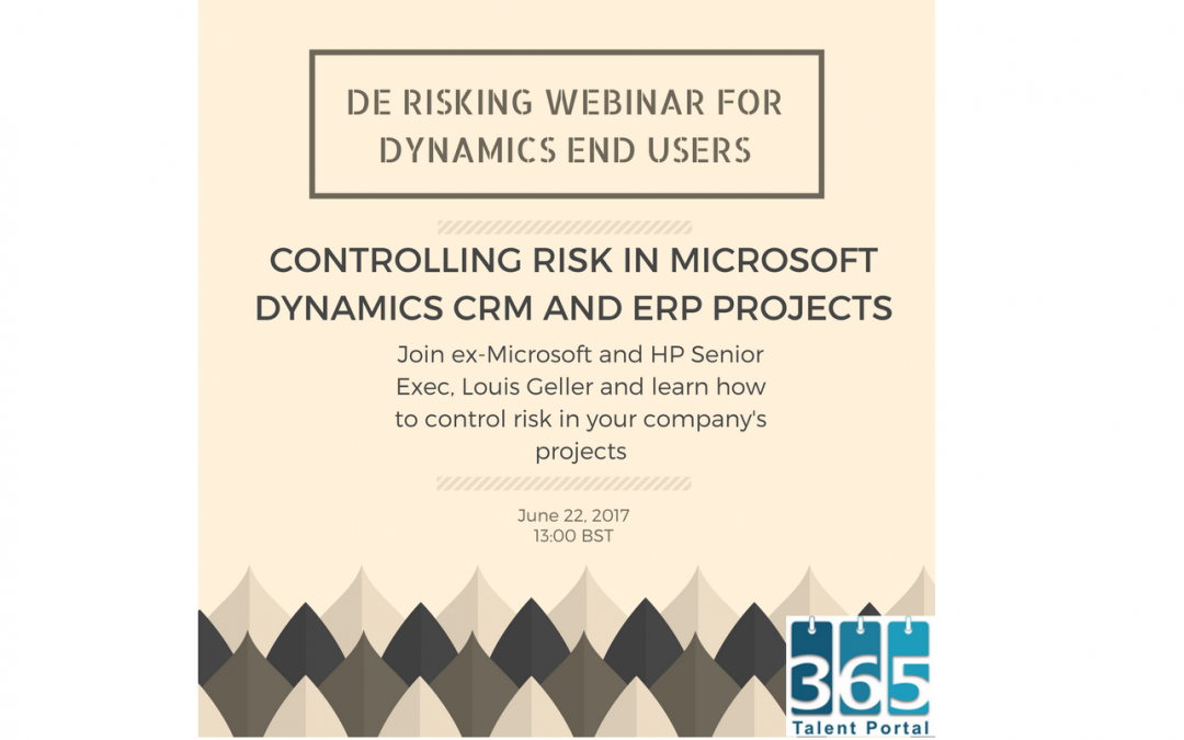 Derisking Projects for Dynamics End Users