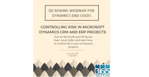 De-risking projects webinar 22/6/17