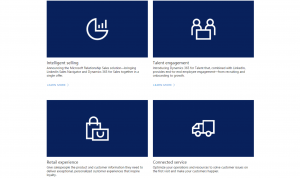 Dynamics 365 Business Forward announcements