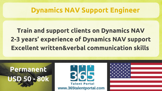 CLOSED – Microsoft Dynamics NAV Support Engineer