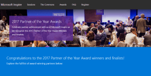 Microsoft Partner of the Year 2017