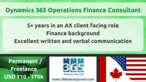 Dynamics AX Finance Consultant