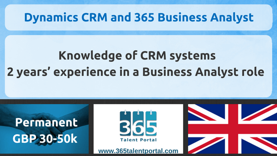 CLOSED – Dynamics CRM and 365 Business Analyst