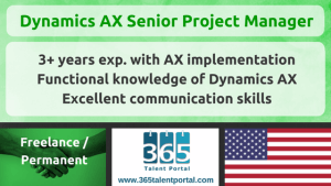 Microsoft Dynamics AX Project Manager