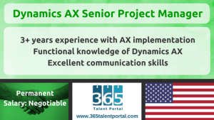 Dynamics AX Project Manager