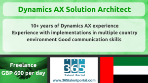 Dynamics AX Solution Architect