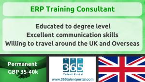 ERP Training Consultant