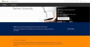 Microsoft Partner University