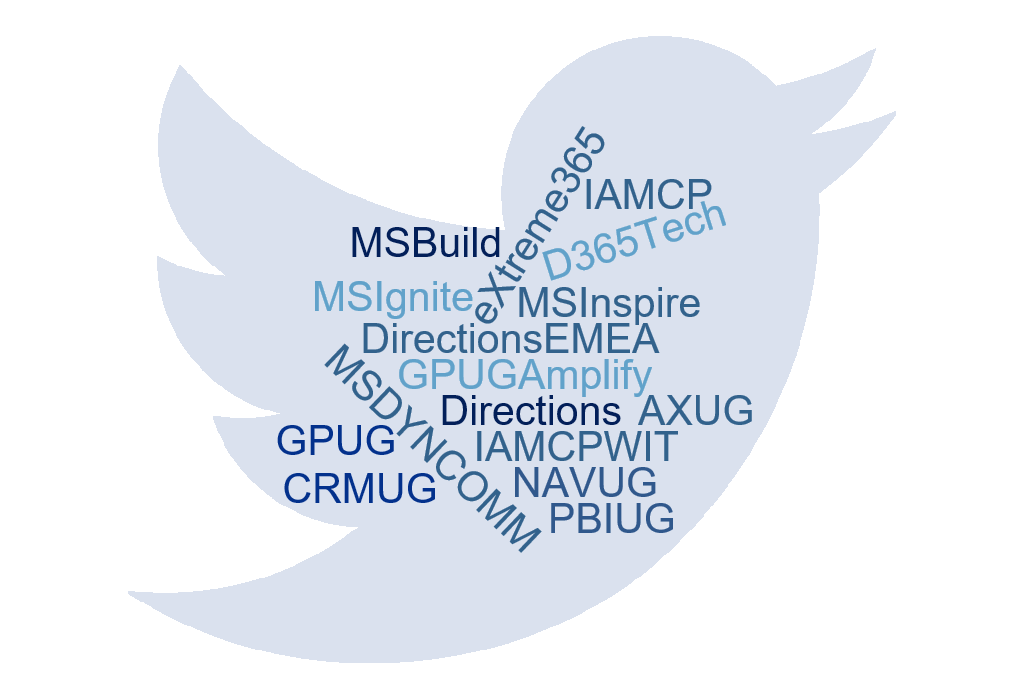 The key hashtags a Microsoft Dynamics partner needs to know
