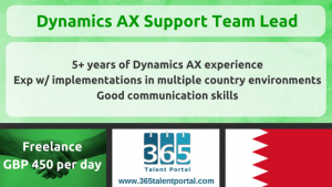 AX Support Team Lead