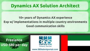 Dynamics AX Solution Architect