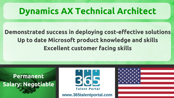 Dynamics AX Technical Architect USA