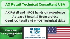 AX Retail Technical Consultant USA