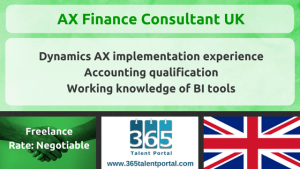 AX Finance Consultant UK