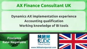AX Finance Consultant UK