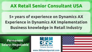 AX Retail Senior Consultant USA