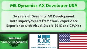 MS Dynamics AX Developer USA