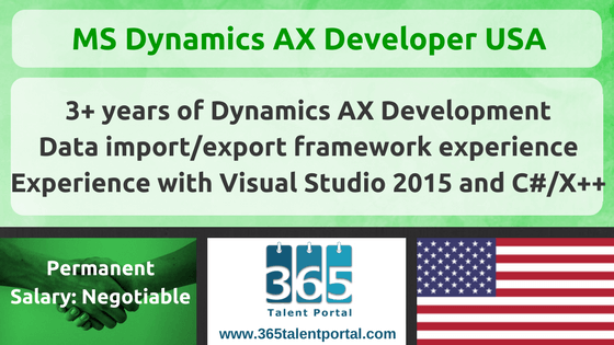 Microsoft Dynamics AX Developer USA