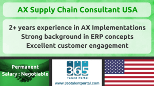 AX Supply Chain Consultant USA