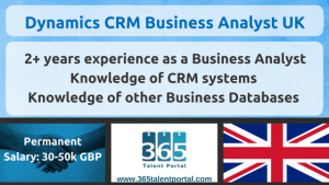 Dynamics CRM Business Analyst UK