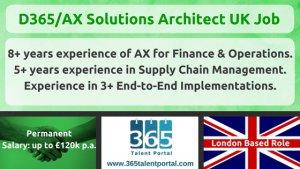 AX Solution Architect