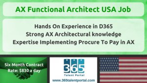 AX Functional Architect