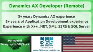 Dynamics AX Developer