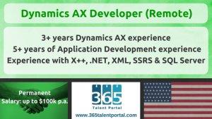 Dynamics AX Developer
