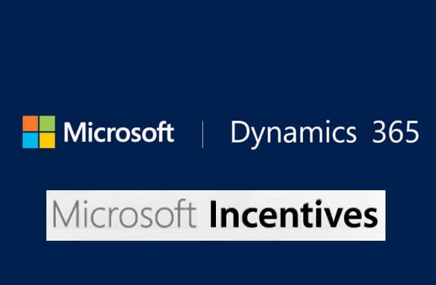 Microsoft Dynamics incentives