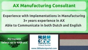 AX Manufacturing Consultant