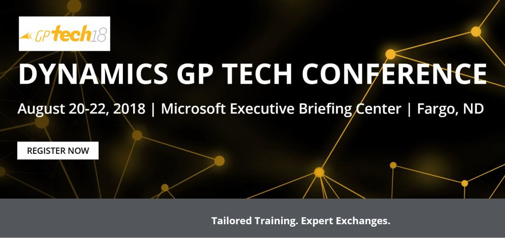 Dynamics GP Tech Conference
