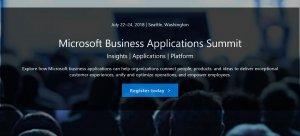Microsoft Business Applications summit 2018