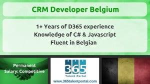 Dynamics CRM Developer Belgium