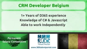 Dynamics CRM Developer Belgium
