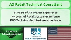 Dynamics AX Retail Technical Consultant