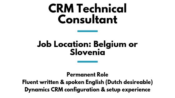 CRM Technical Consultant