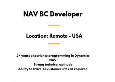 NAV BC Developer