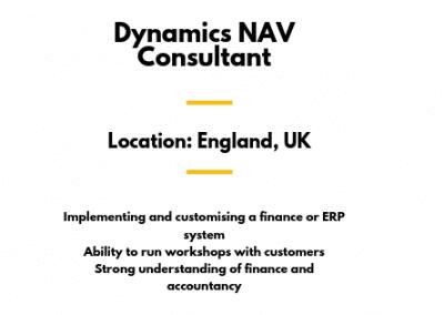 Dynamics NAV Consultant